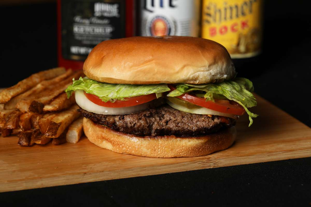 Old Fashioned Homemade Burger