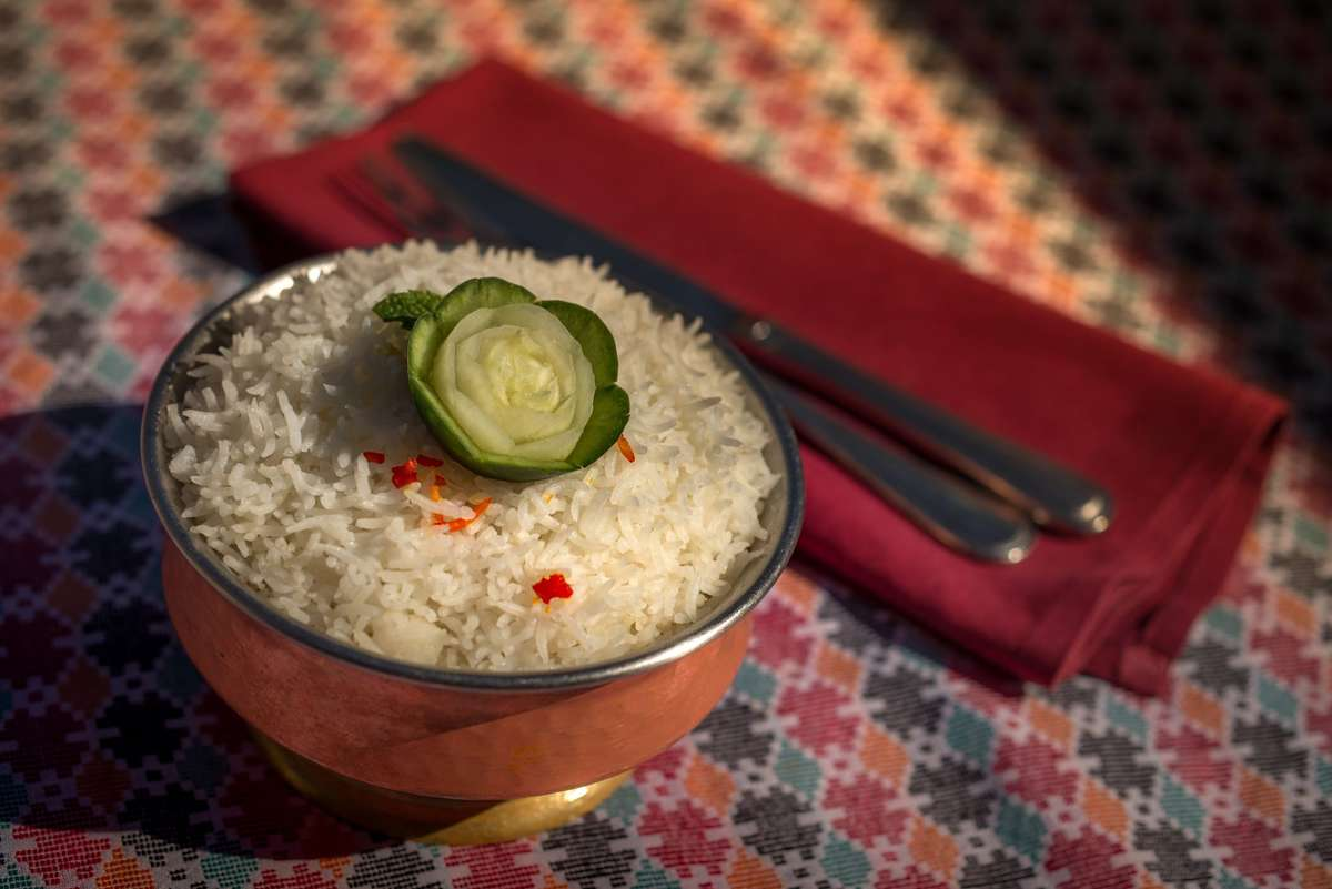 Bhat (White Basmati Rice)