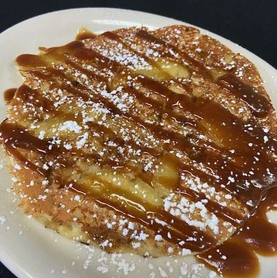 Caramel Apple Upside Down Pancake
