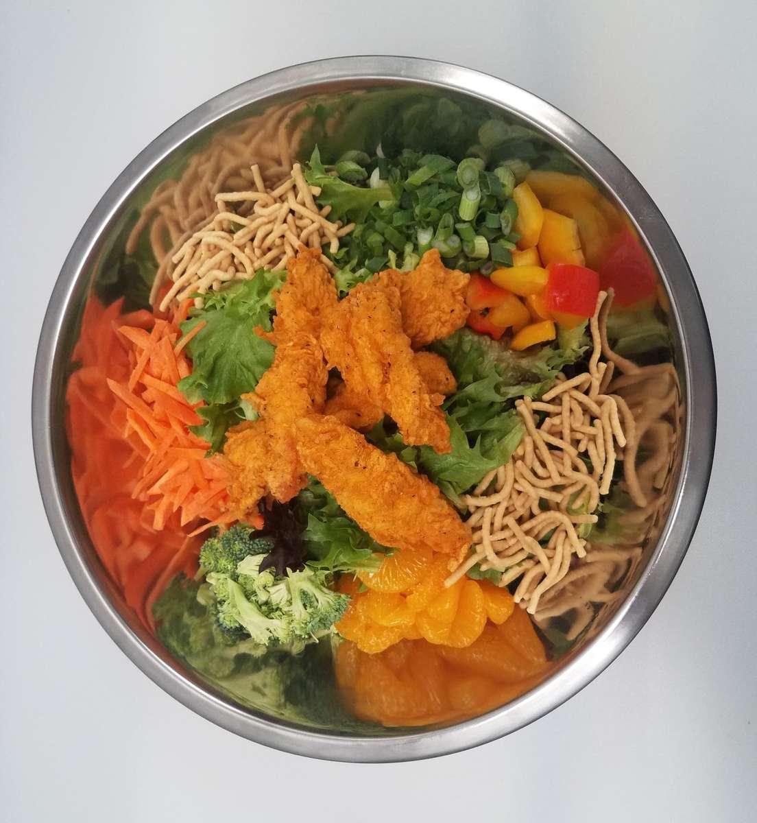 Golden Phoenix Chicken Salad