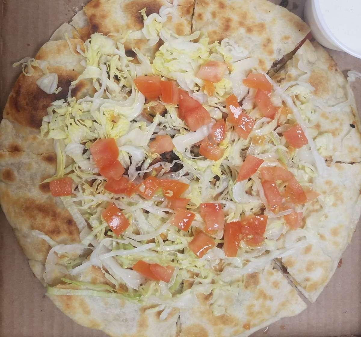 Chicken BLT Quesadilla