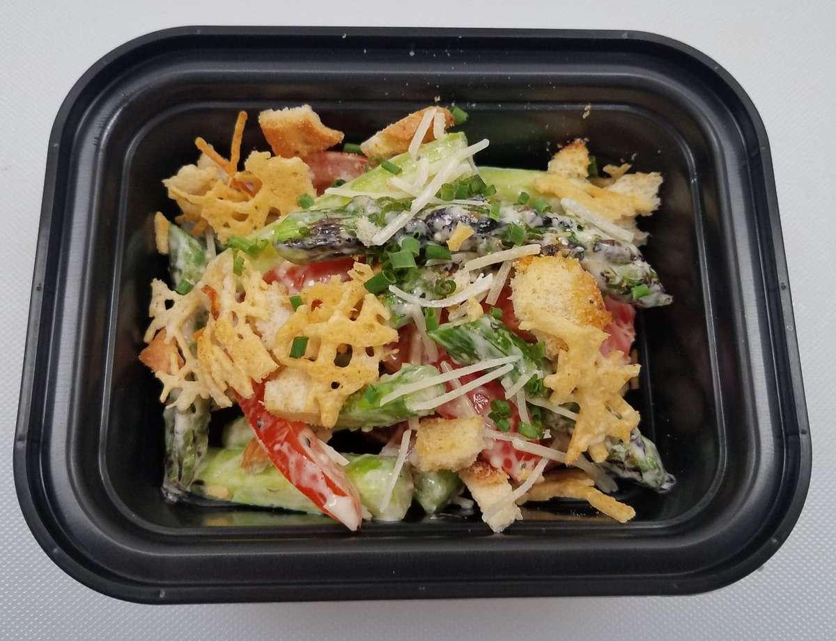 Asparagus Caesar Salad