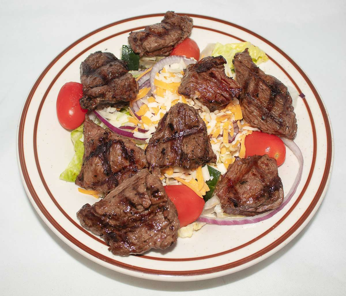 Salad w/Sirloin Tips