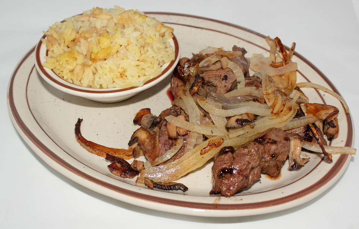 Grilled Sirloin Tips