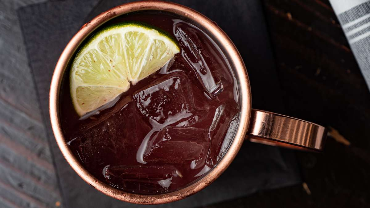 flavored moscow mule