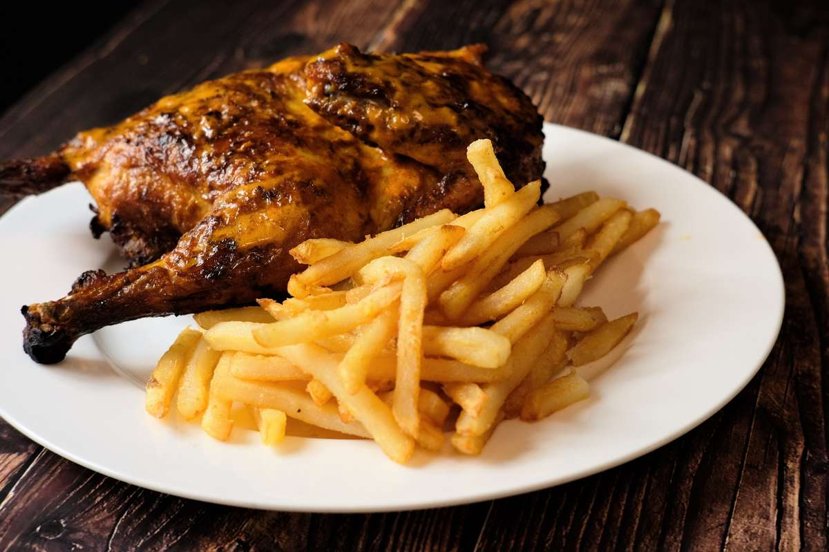 Peri Peri 1/2 Chicken & 1 Side