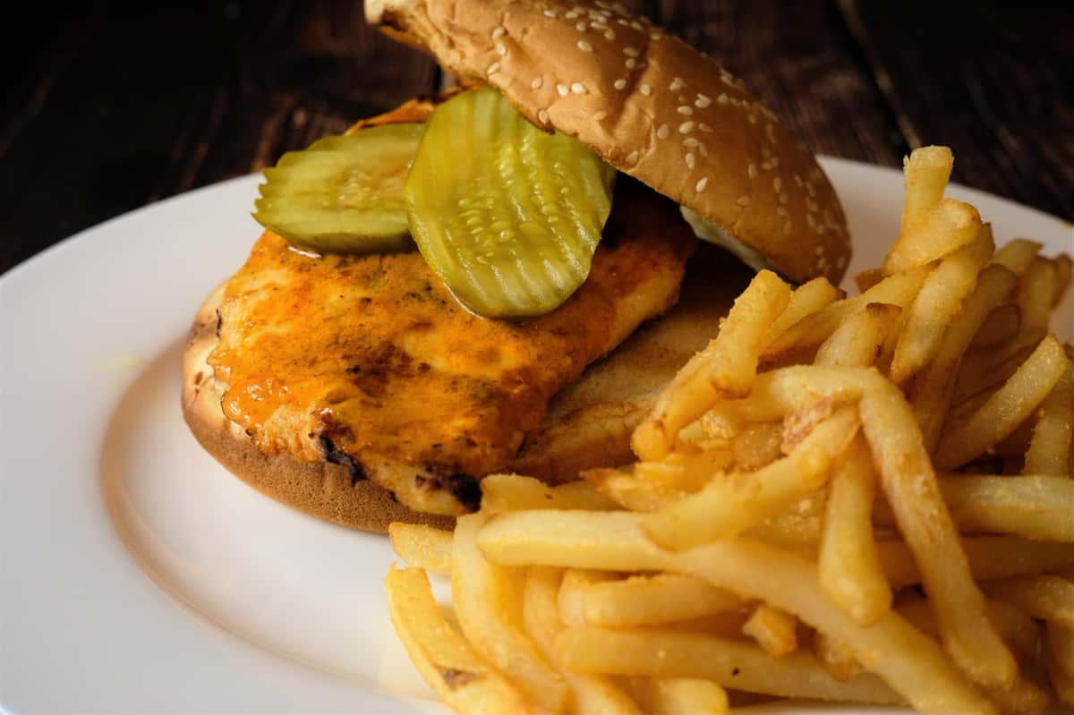 Peri Peri Grilled Chicken Sandwich