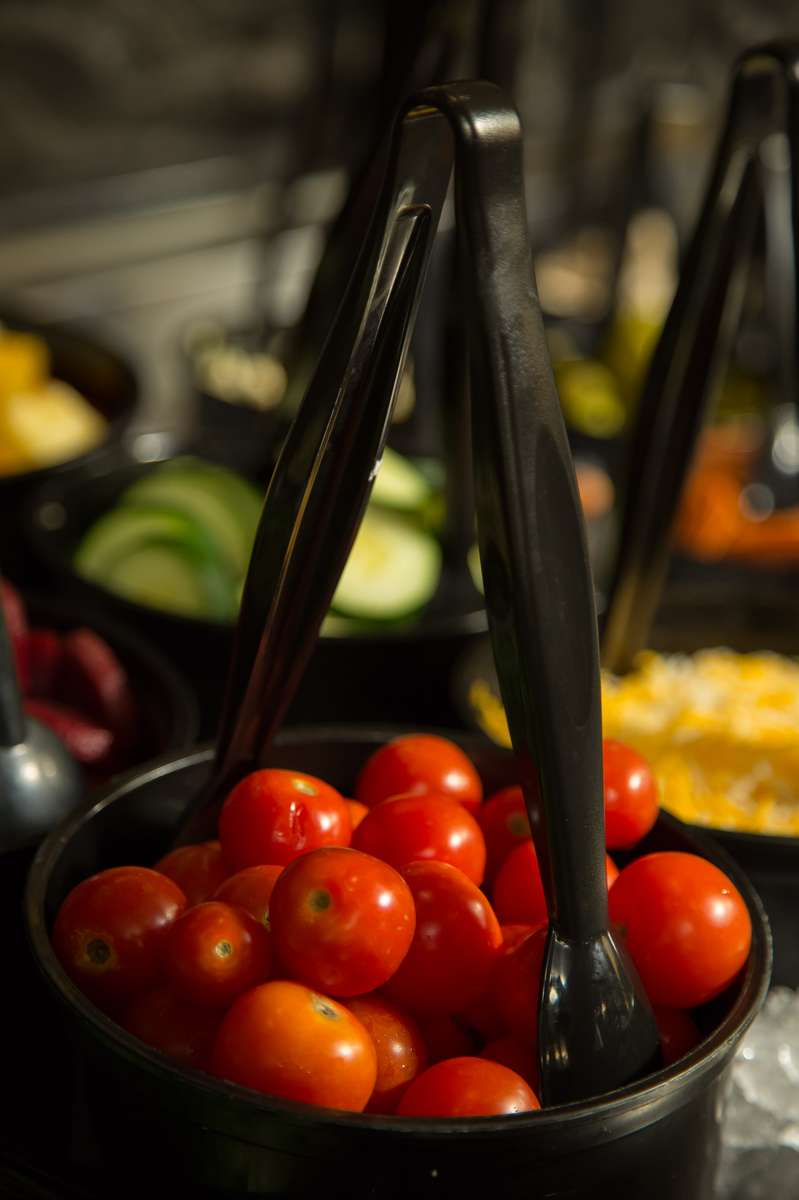 salad bar tomatoes
