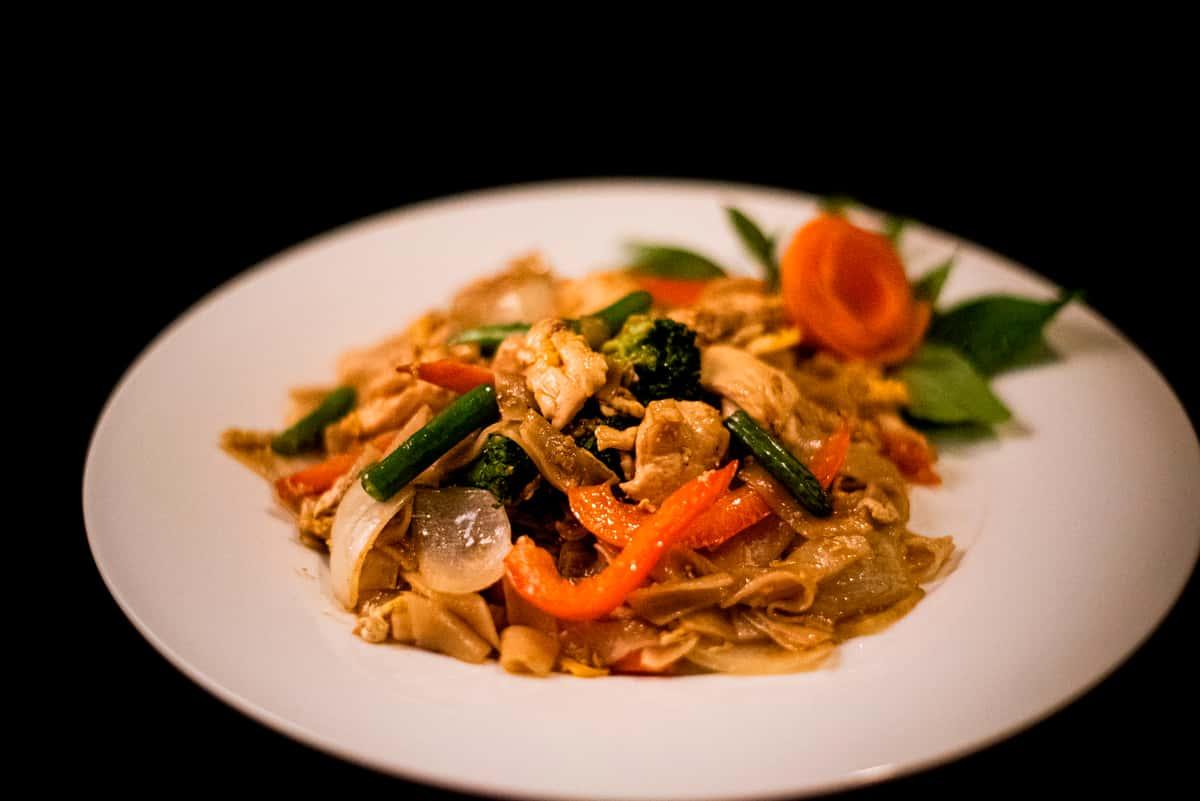 Pad-Kee-Mao ( Drunken Noodle )