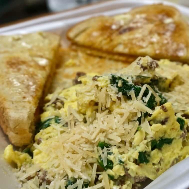 breakfast entree