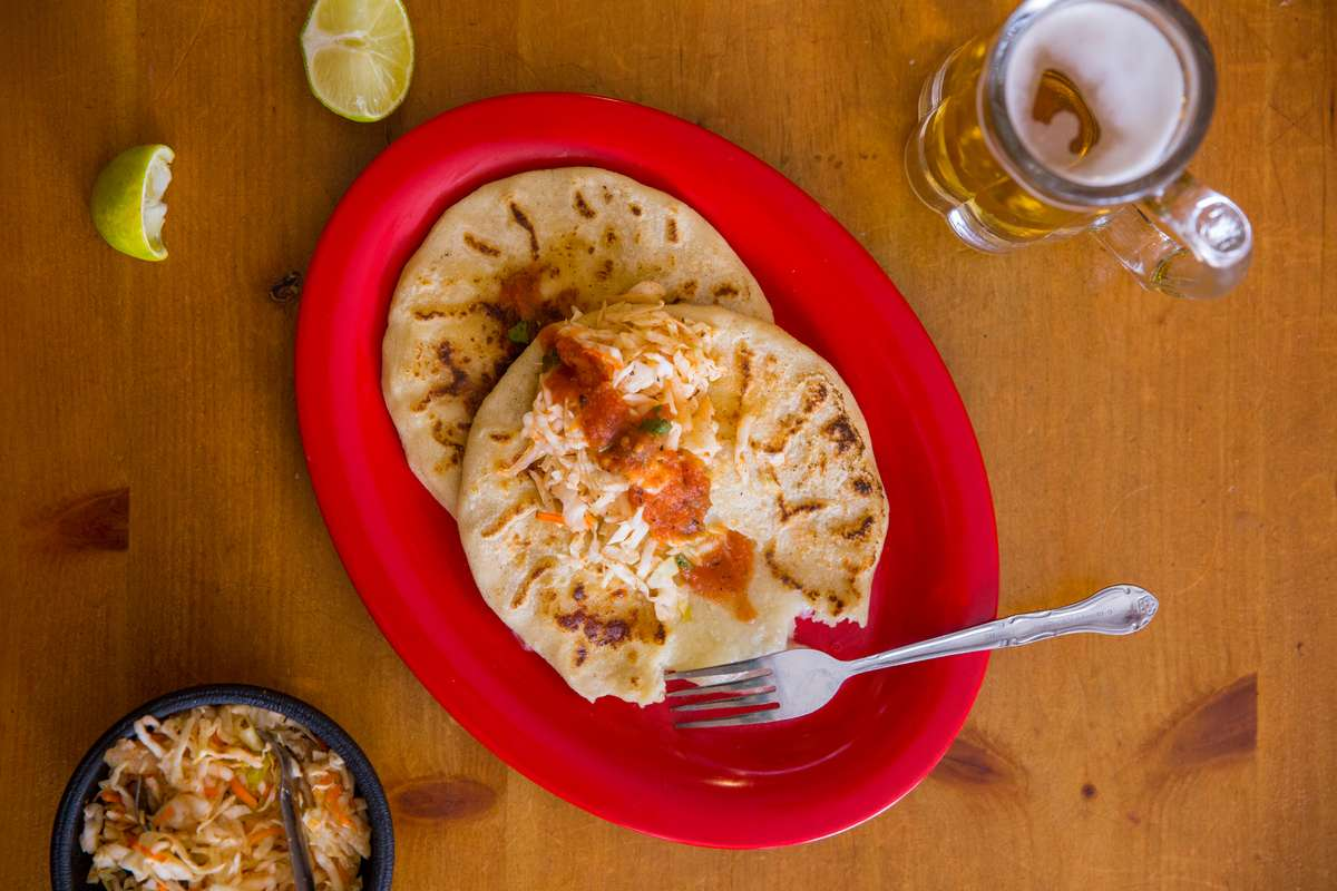 Pupusa de Chorizo