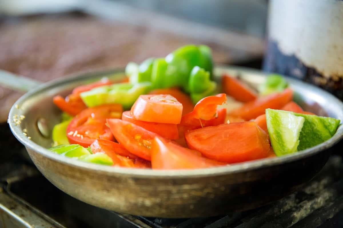 Las Cazuelas vegetables