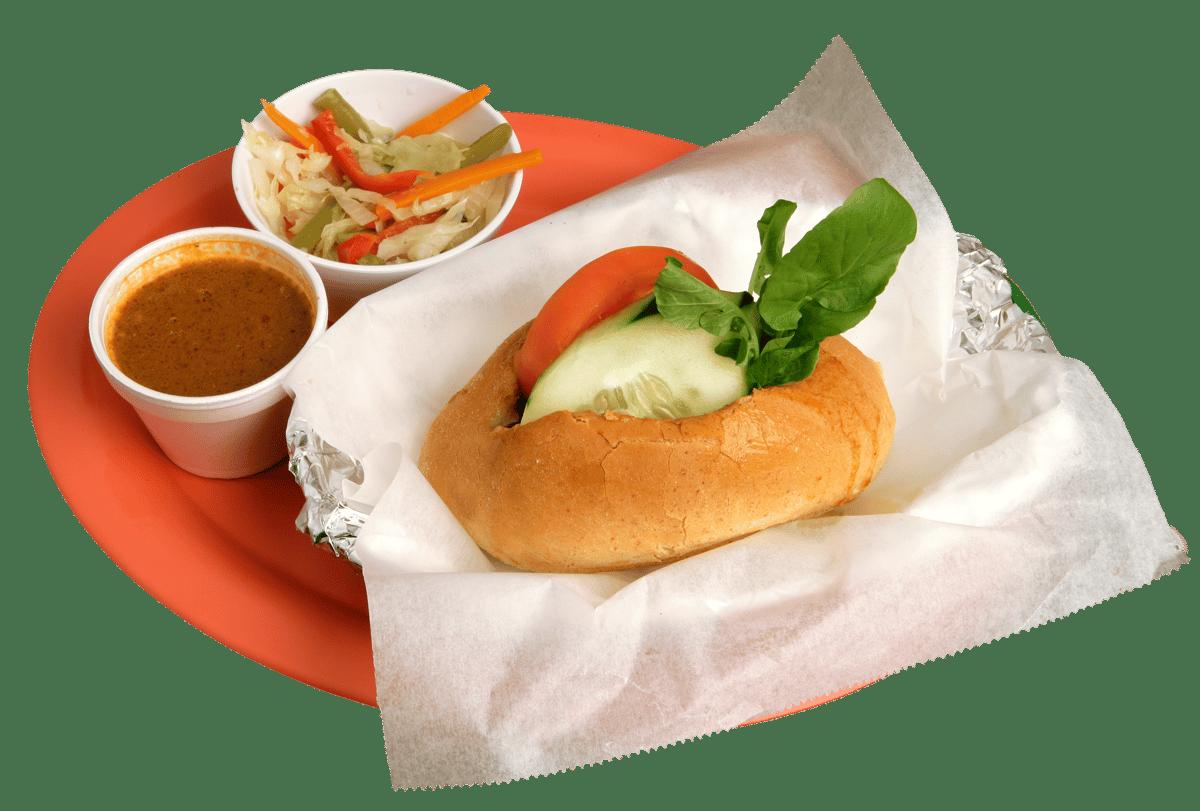 Pan con Pollo