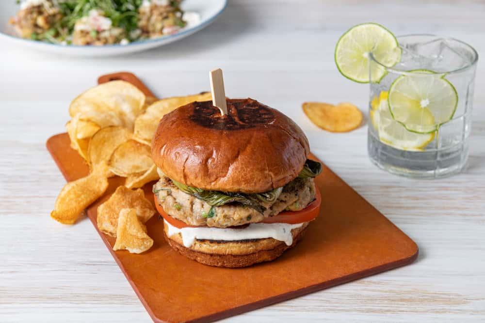 Tuna Burger*