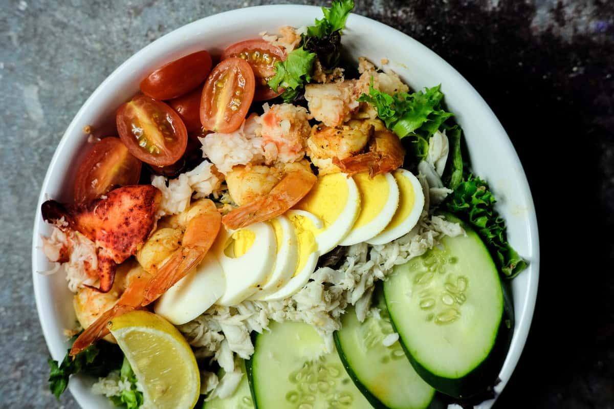 Esco Seafood Louie Salad