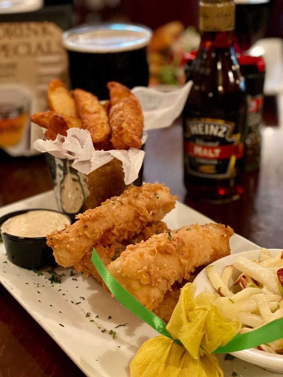 Atlantic Cod Fish & Chips