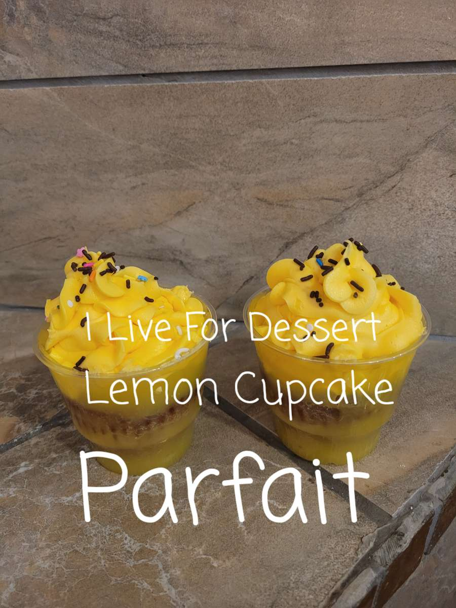 Lemon Cupcake Parfait 3 Day Notice