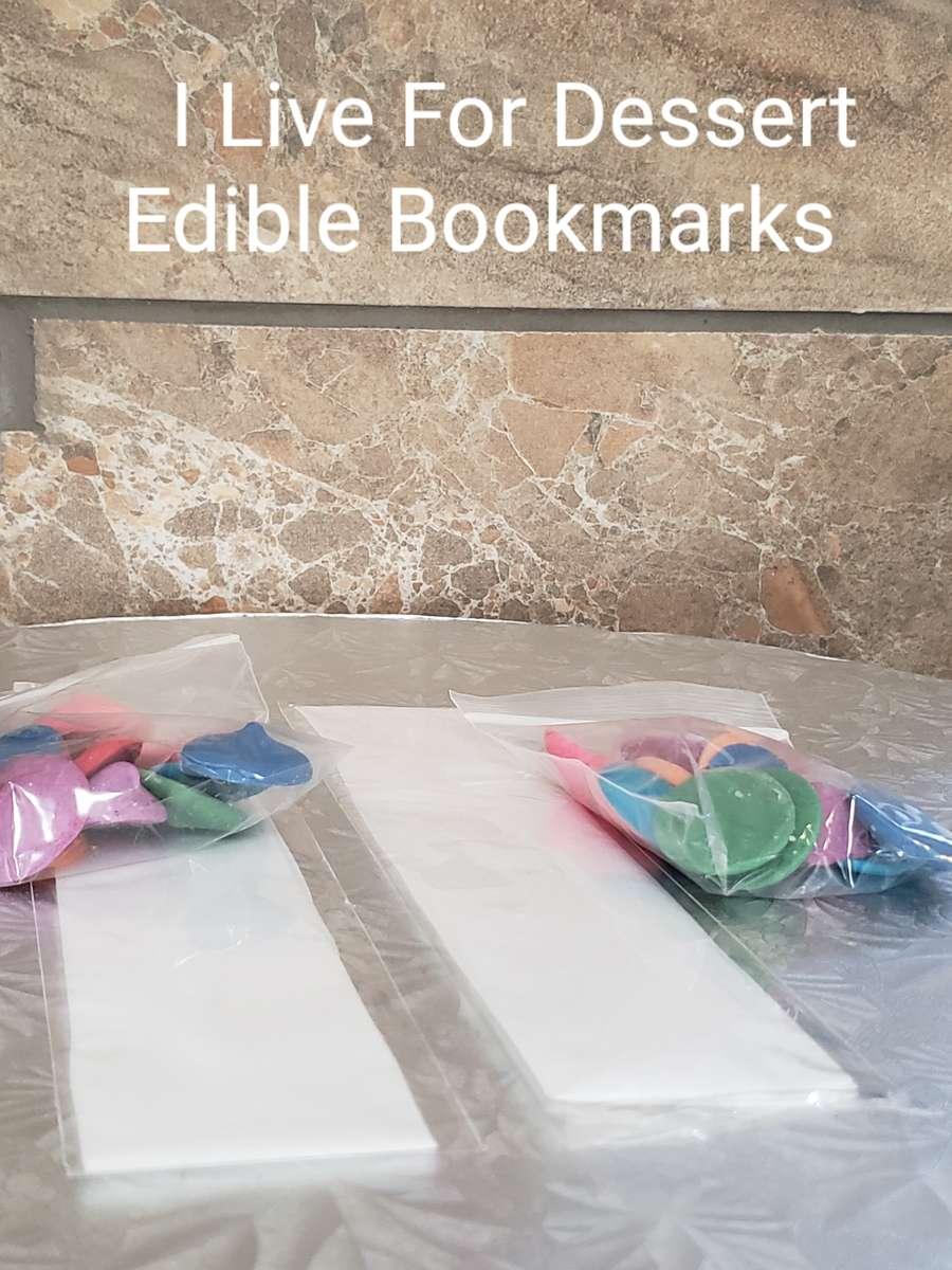 Edible Book Marks Todays Batches