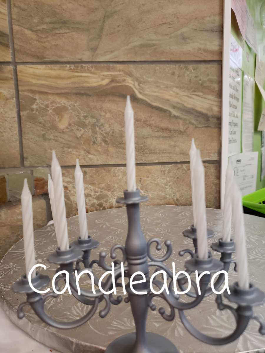 Candelabra Gray