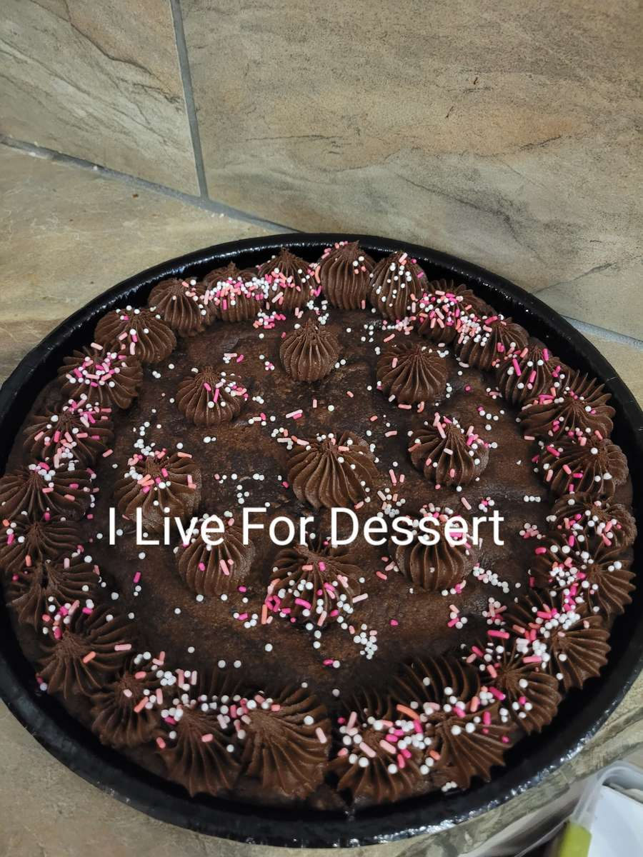 Giant Double Chocolate Cookie Order By 2PM For Next Day