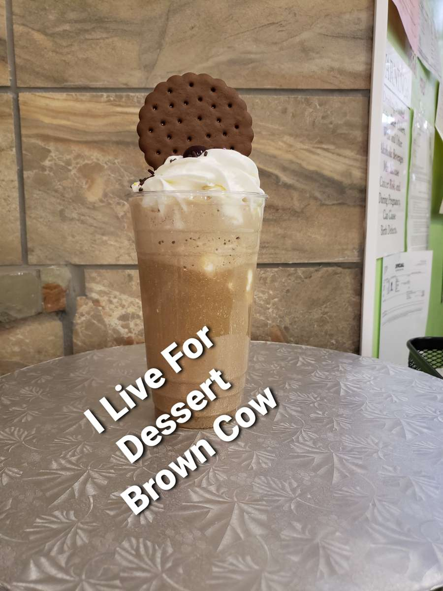 24 Oz Brown Cow/ Rootbeer/ Vanilla Ice Cream