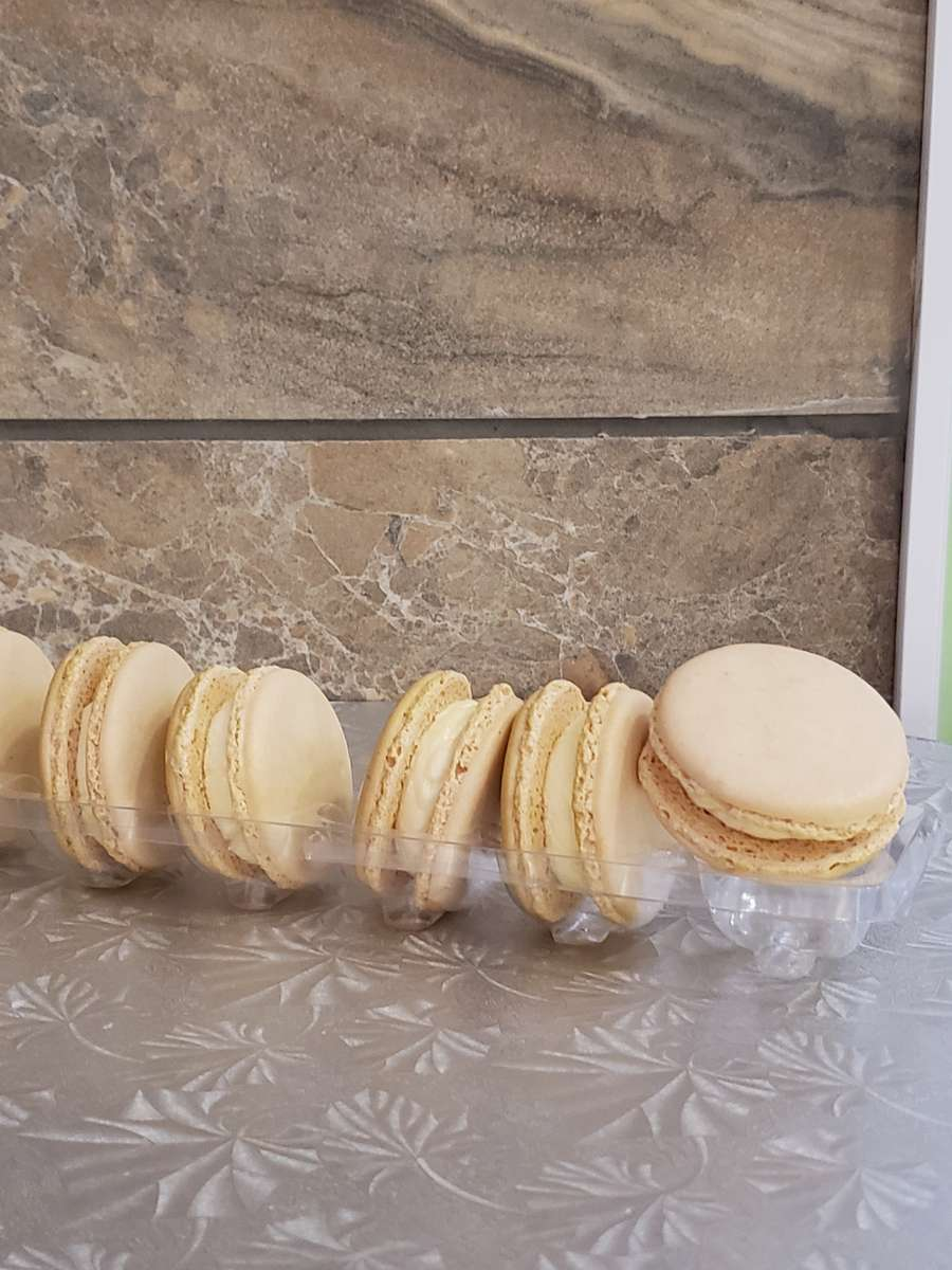 Champagne Macarons 3 Count Todays Batches