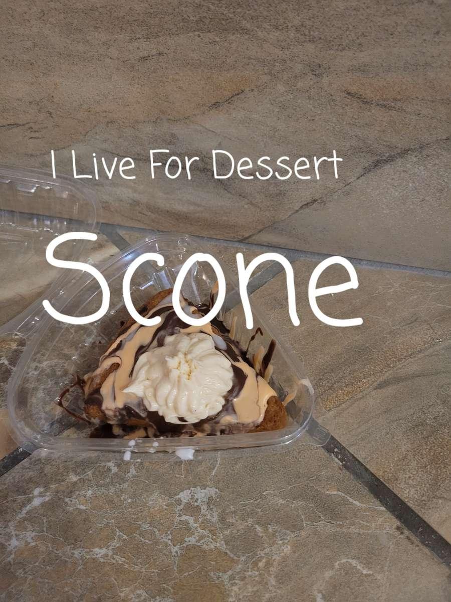 Scone Orange/ Chocolate Todays Batches
