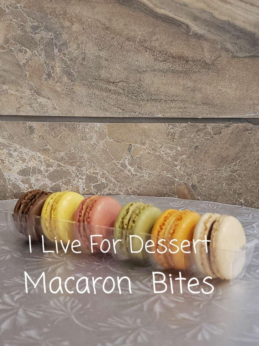 Macaron Bites GF 6 Count