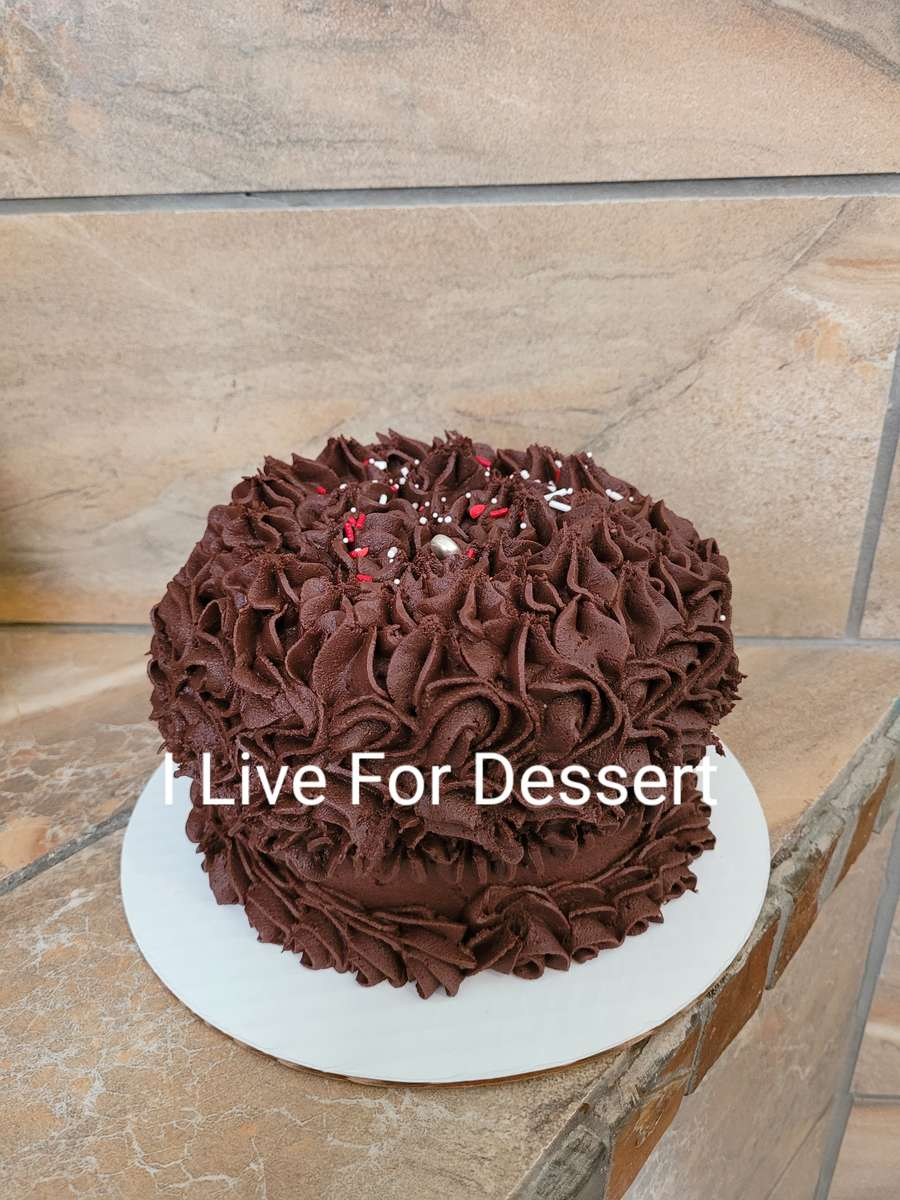 """6"""" D Red Velvet Cake/ Chocolate Frosting Order By 2 PM For Next Day"""