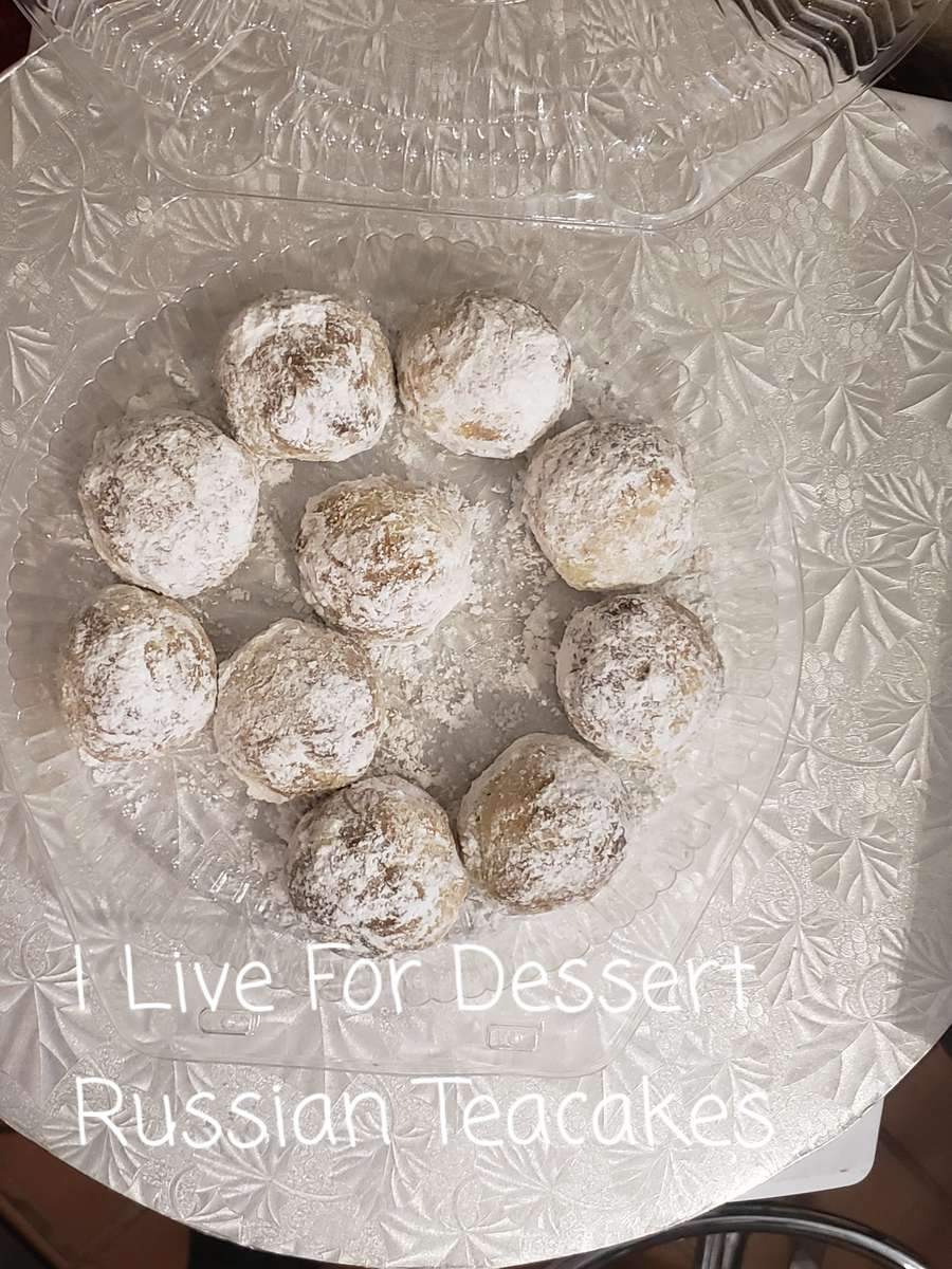 Russian Tea Cakes 10 Count 3 Day Notice