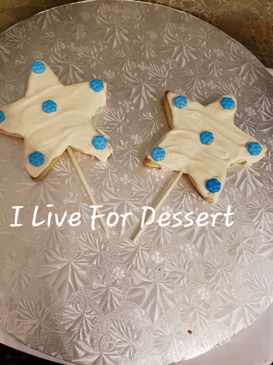 Shortbread Cookie On A Stick