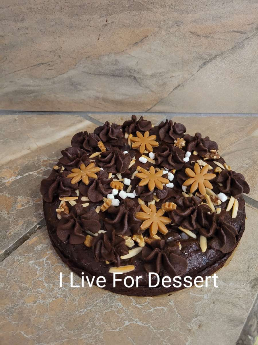 """Rocky Road Brownie 8"""" GF Order By 2 PM For Next Day"""