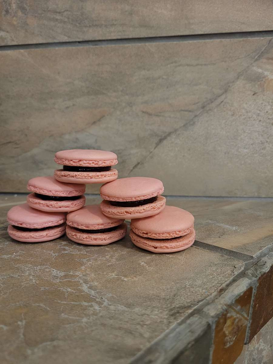 Strawberry Macarons 3 Count Todays Batches