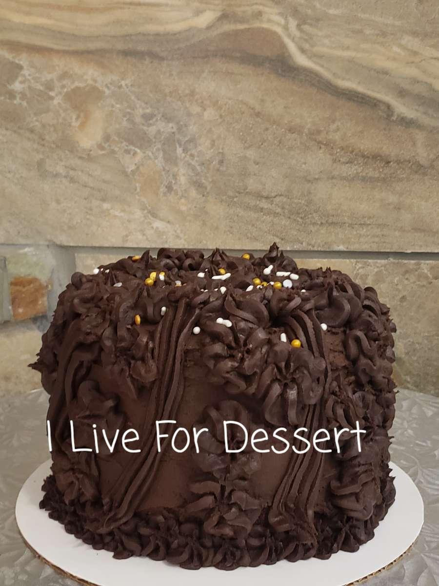 "6""D Red Velvet Cake Fudge Frosting DF 3 Day Notice"