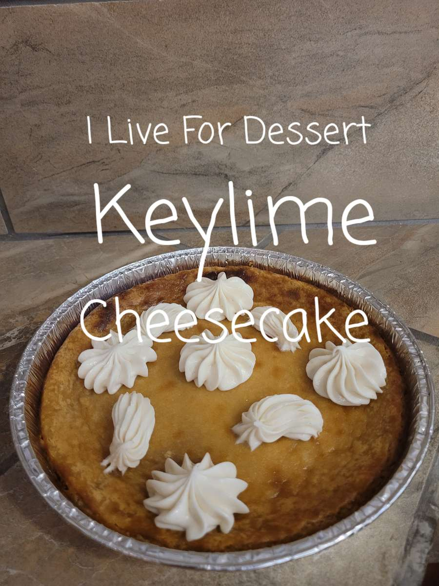 Keylime Cream Cheese Pie 3 Day Notice
