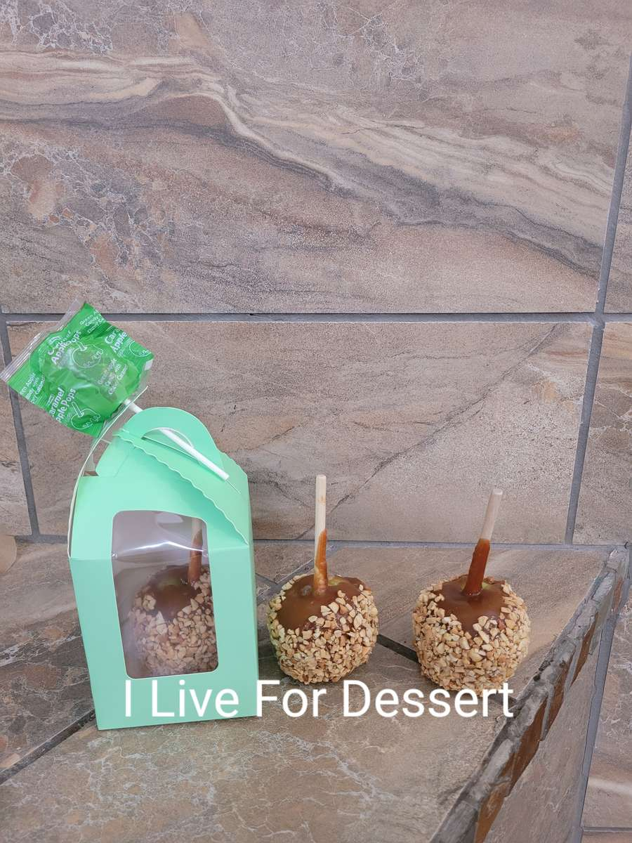 Candy Apple Caramel & Nuts & Lolly Todays Batch