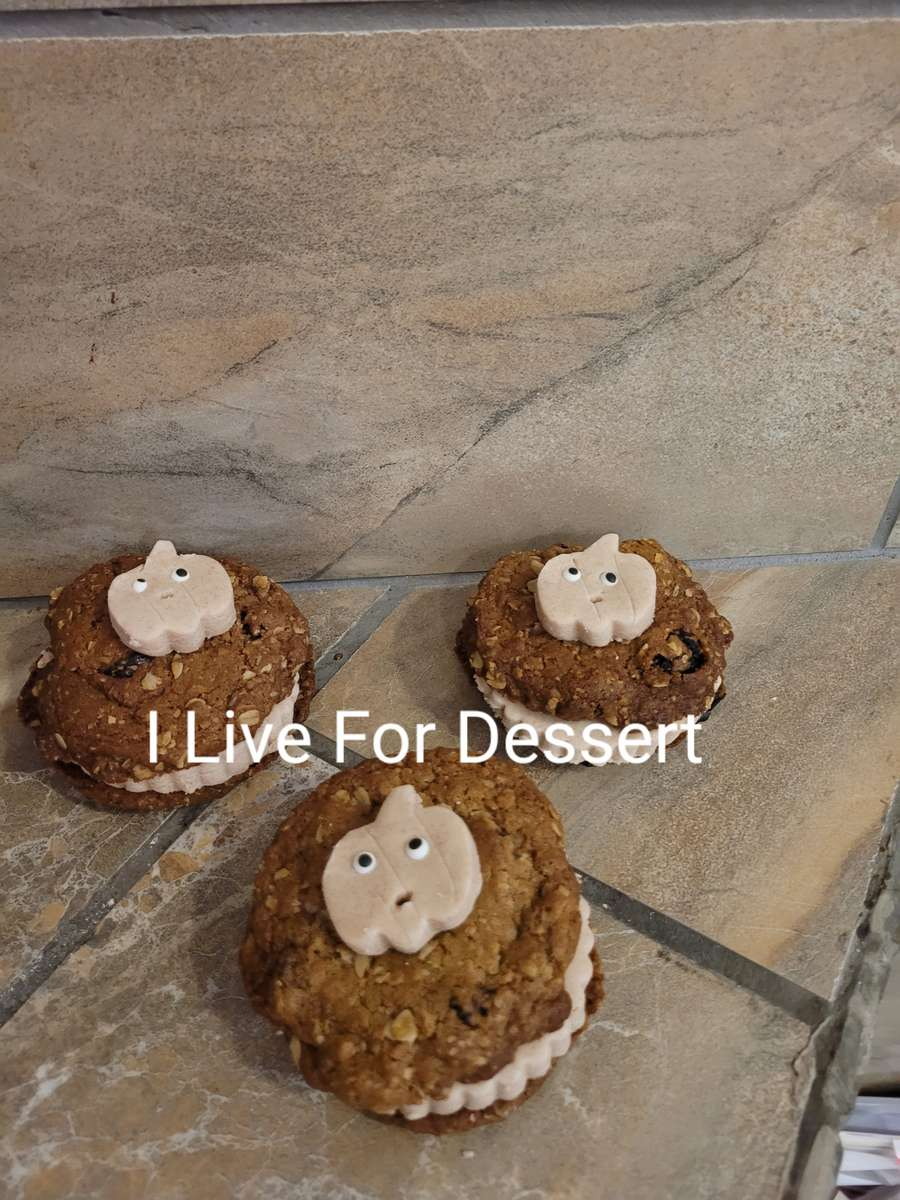 Oatmeal Raisin Cookie Sandwich Order BY 2 PM FOR NEXT DAY