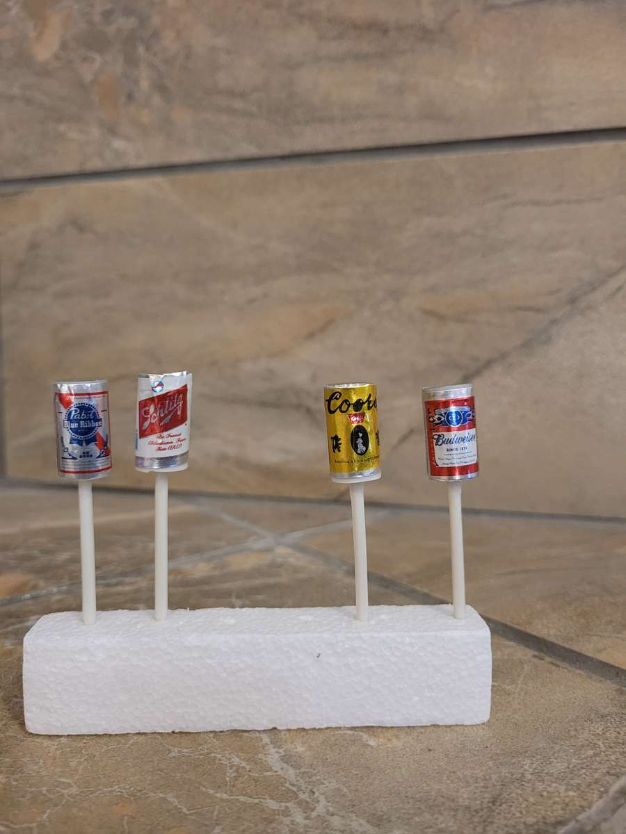 Beer Can Candles Todays Batches