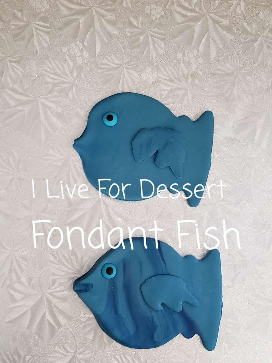 """4"""" Fondant Fish 3 Day Notice"""