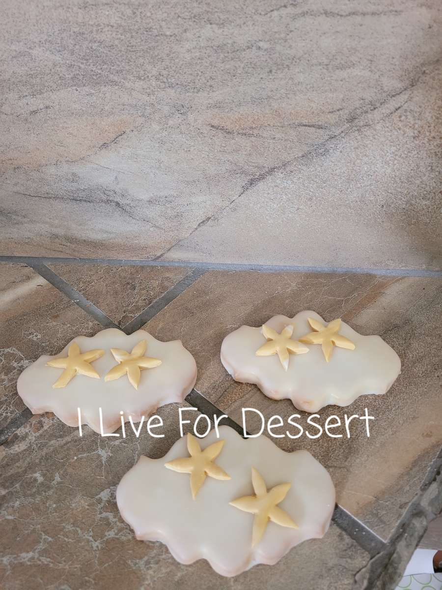 Scroll Shortbread Cookie / Royal Icing Order By 2 PM For Next Day