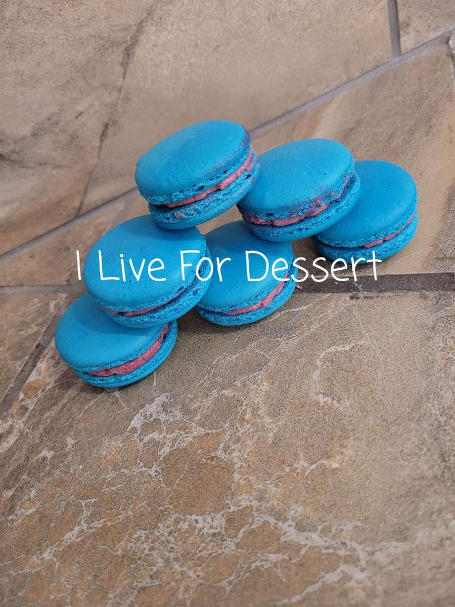 Blue Tart Macarons Todays Batches