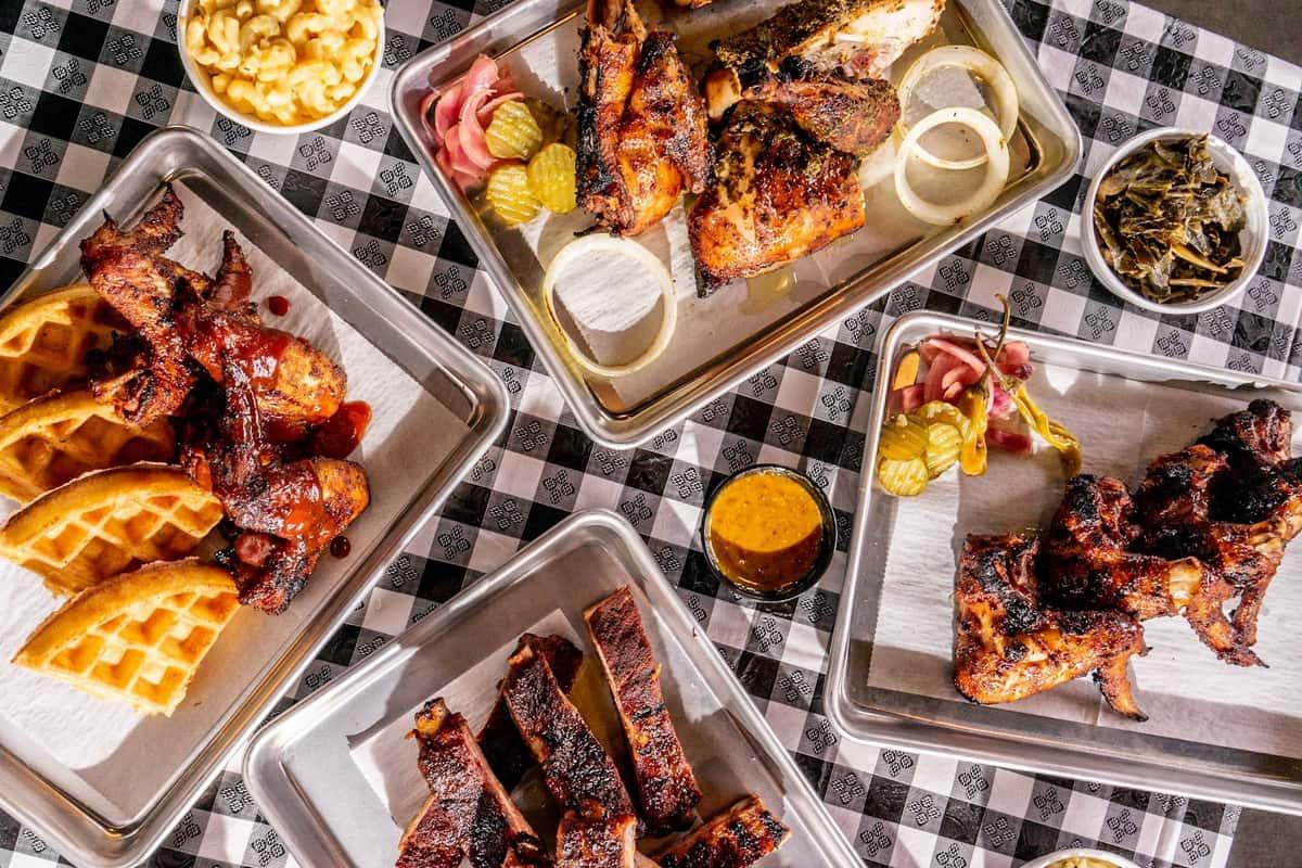 BBQ Plate Platters