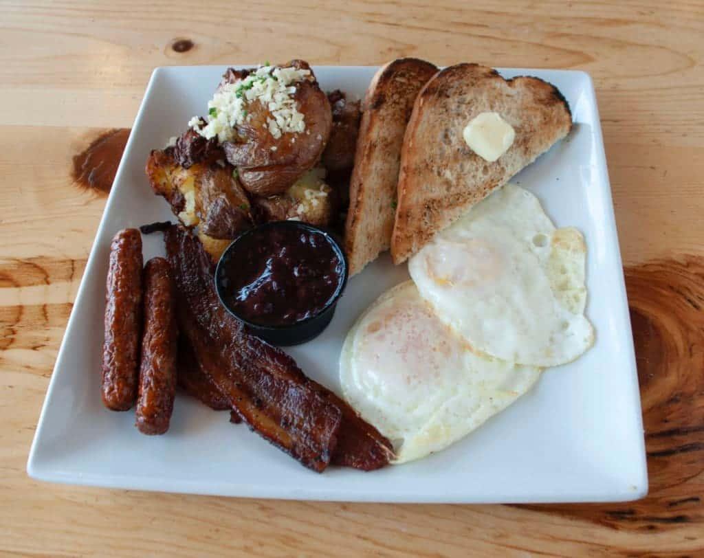 Breakfast Farm Plate