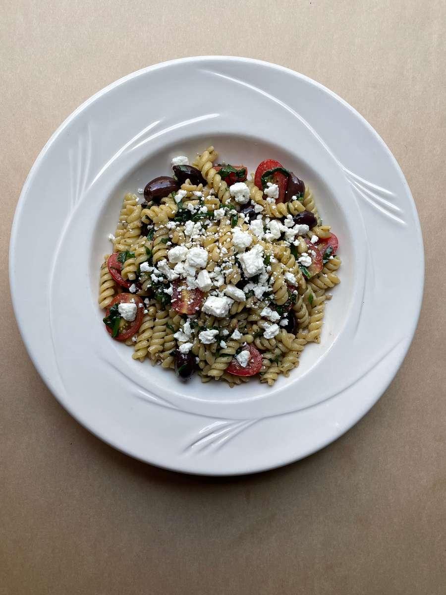 rotini spinach pasta