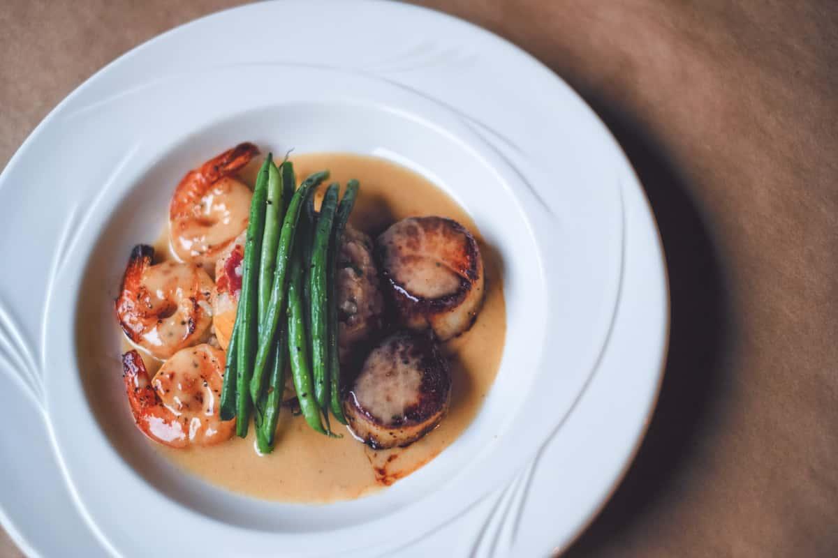 shrimp & scallops