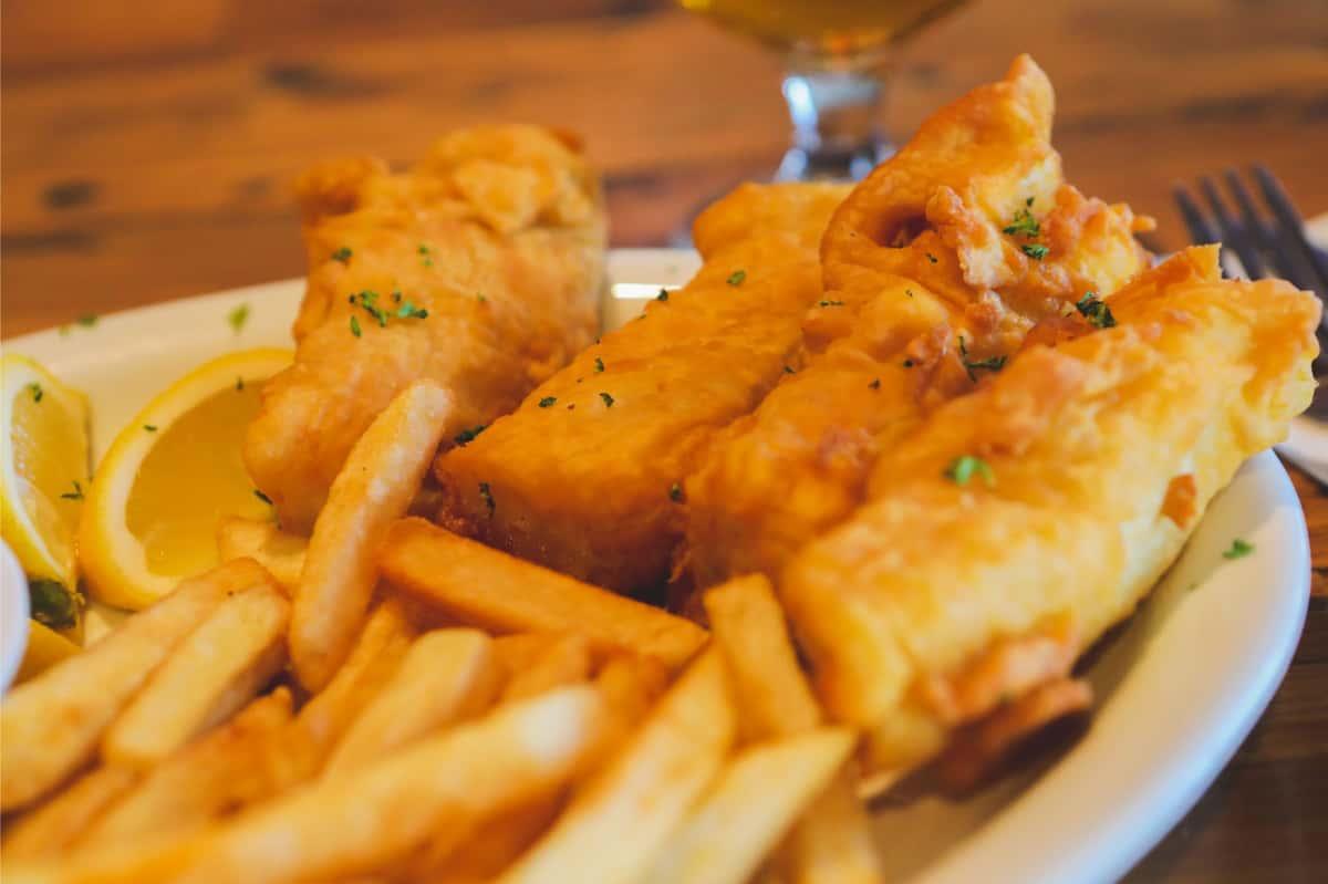 Beer Battered Fish & Chips