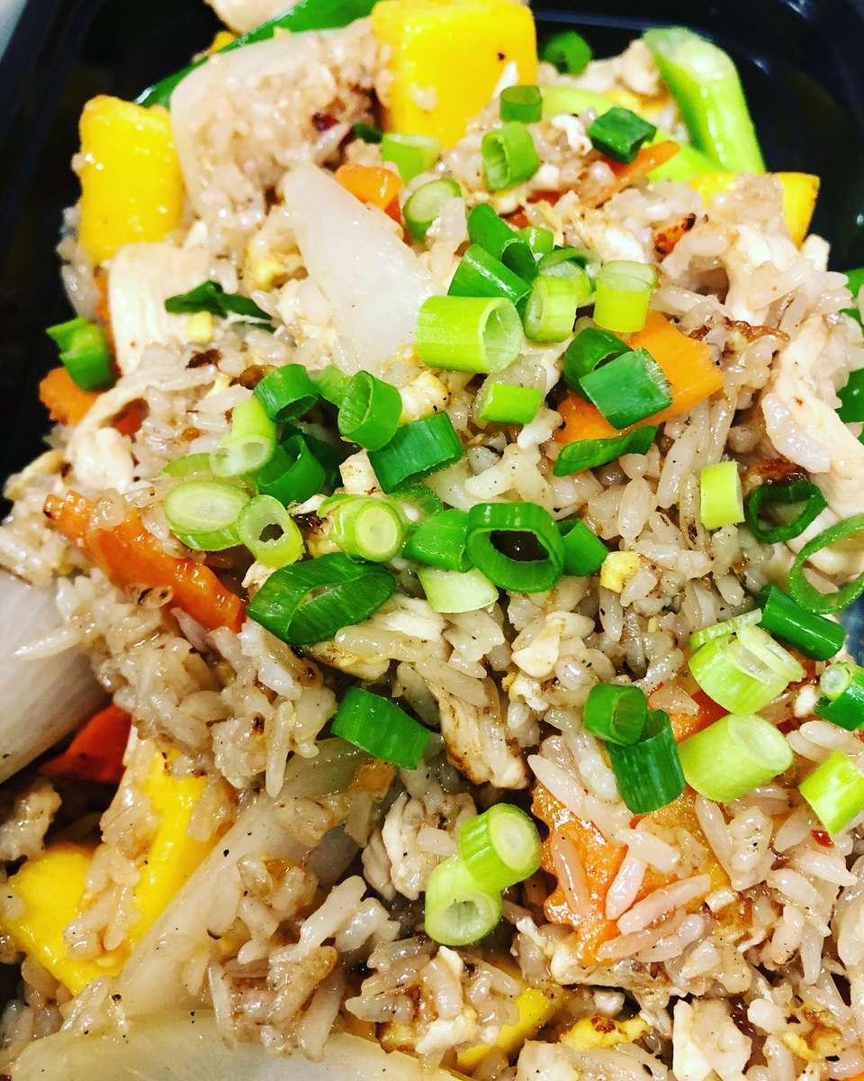 Mango Fried Rice