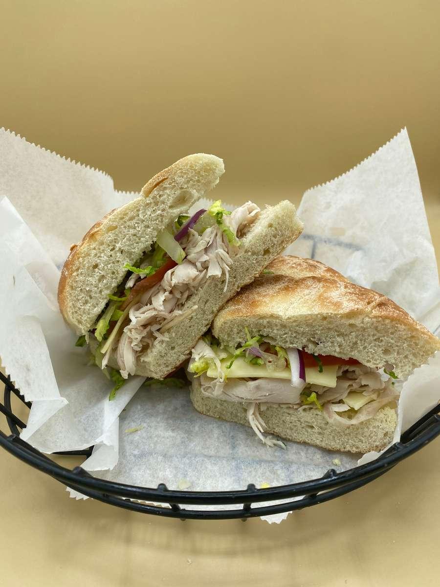 """Deli Sandwich- 10"""""""