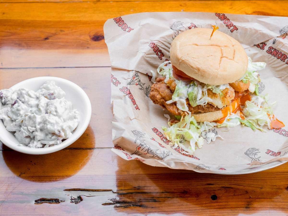 Boom Boom Chicken Sandwich