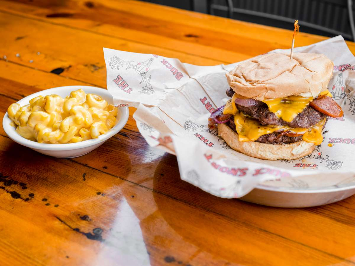 double armadillo burger